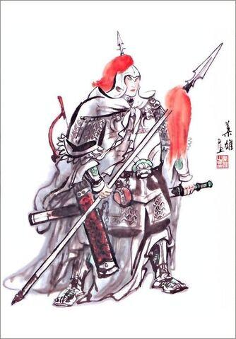 File:Zhao Yun - Ye Xiong Art.jpg
