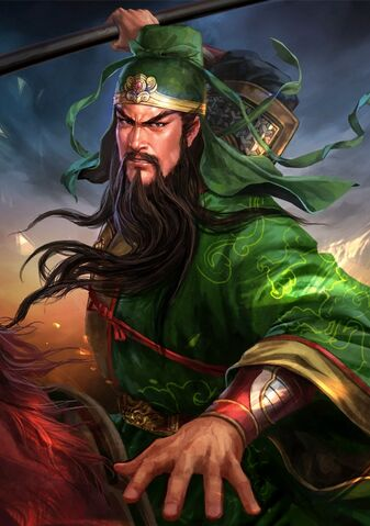 File:Guan Yu (battle Red Hare young) - RTKXIII.jpg