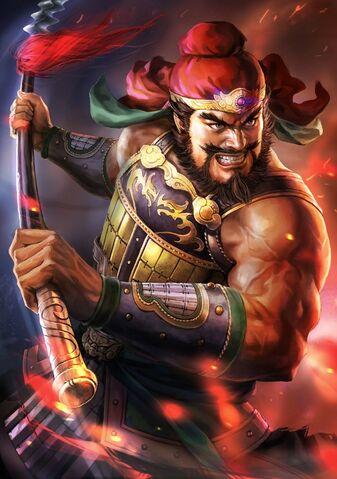 File:Zhang Fei (battle young) - RTKXIII.jpg