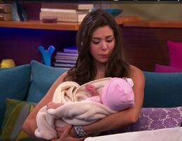 Phoebe and Baby Chloe