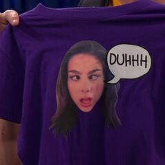 Phoebe's DUHHH T-shirt from Max
