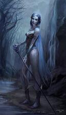 Moon Elf Mage