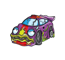 Carnage Car Artwork