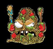 Tossed Spaghetti FoodFightTrash