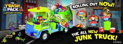 Junk Truck Poster