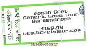 Jonah Crew Ticketslave