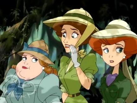 Greenly, Hazel, and Eleanor