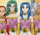 Gyokuren, Hakuren, Karen, and Suiren