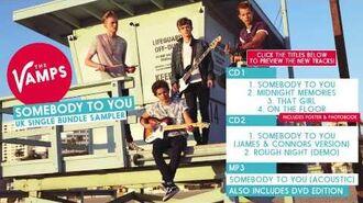 'Somebody To You' - UK Single Bundle Sampler