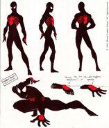Rick Leonardi Black Suit Spider-Man Concept