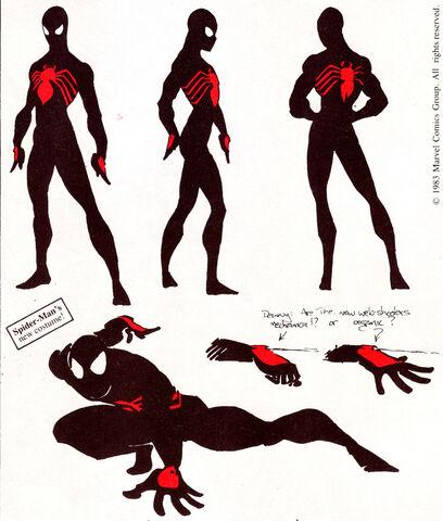 File:Rick Leonardi Black Suit Spider-Man Concept.jpg