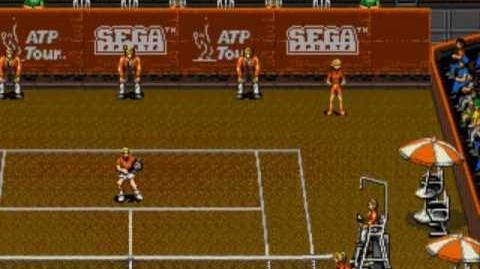ATP Tour Championship Tennis - Mega Drive Gameplay - 1 Game