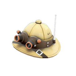 2000389-backpack lord cockswain 27s pith helmet 1 large
