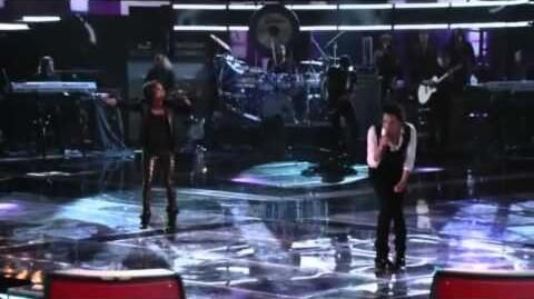 "Vicci Martinez and Pat Monahan - ""Drops of Jupiter"""