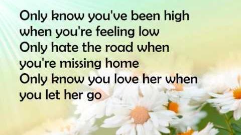 Passenger Let her go lyrics