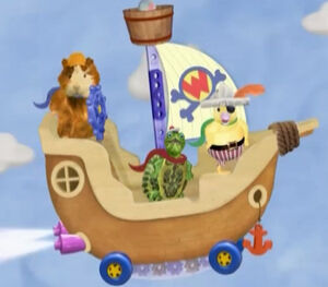 Pirate-Boat