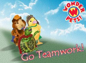 Wonder Pets! Wiki Teamwork