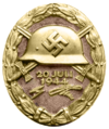Wound Badge, 1944 (gold)