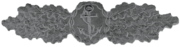 Naval Combat Clasp (silver)