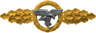 Transport and Glider clasp, Gold (Luftwaffe)