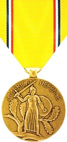 American Defense Service Medal (full)