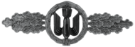 Bomber Clasp, Silver (Luftwaffe)