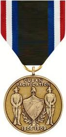 Army of Cuban Pacification Medal (full)