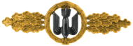 Bomber Clasp, Gold (Luftwaffe)