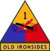 1st Armored Division (detached tab)