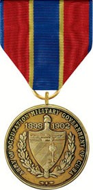 Army of Cuban Occupation Medal (full)