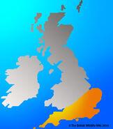 Montagu's Harrier map