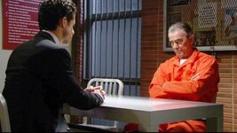 Luca visits Victor in prison