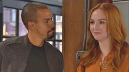 Devon stares at Mariah