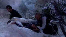 Devon comforts Hilary