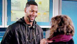 Jordan smiles Lily