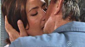 Meredith Victor kiss 2