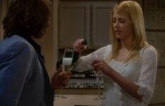 Daisy & Daniel drinking