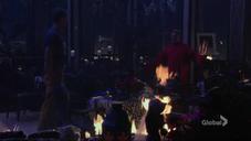 Adam & Ian in the fire