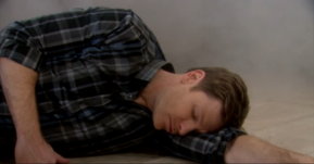 Billy unconscious