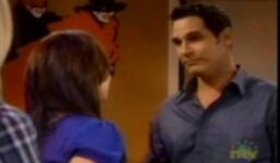 Brad talking to Colleen