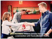 Travis meets Victoria Newman