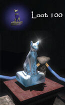 TDS Cat statue loot