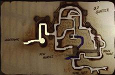 Hightown map