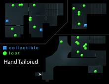 Hand Tailored Loot Map