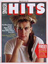 Smash Hits June 24 1982 FB3 cover
