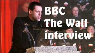 """Pink Floyd """"The Wall"""" BBC radio interview from 1979"""