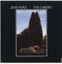John Foxx - The Garden (front cover)