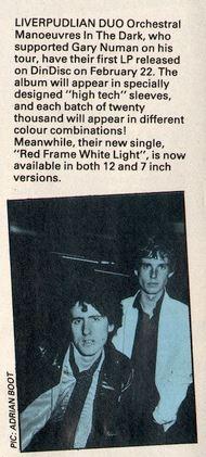 Smash Hits Feb 80 debut album announcement