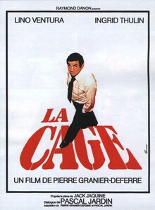 1980-07-04 La Cage French film on TV