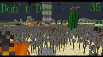 Don't Die Minecraft 35 Recording is Hard!